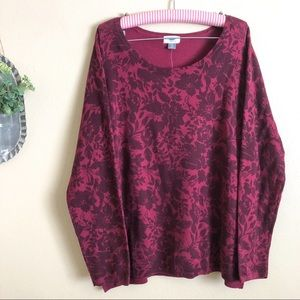 NWT Old Navy Maroon Burgundy Sweater